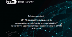 Silver partner ESET software